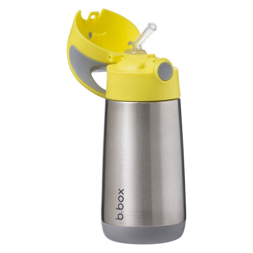 b.box Insulated Drink Bottle - Lemon Sherbet | Baby Box | NZ Baby Shop