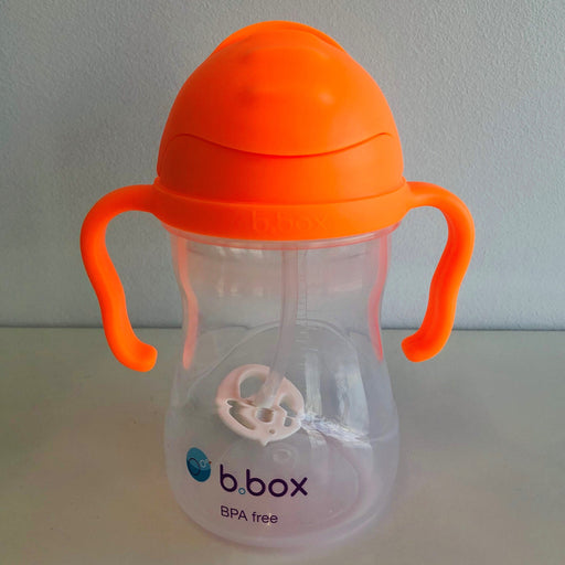 b.box - Sippy Cup - Neon Orange Zing | Baby Box | NZ Baby Shop