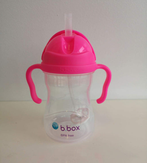 b.box - Sippy Cup - Neon Pink Pomegranate | Baby Box | NZ Baby Shop