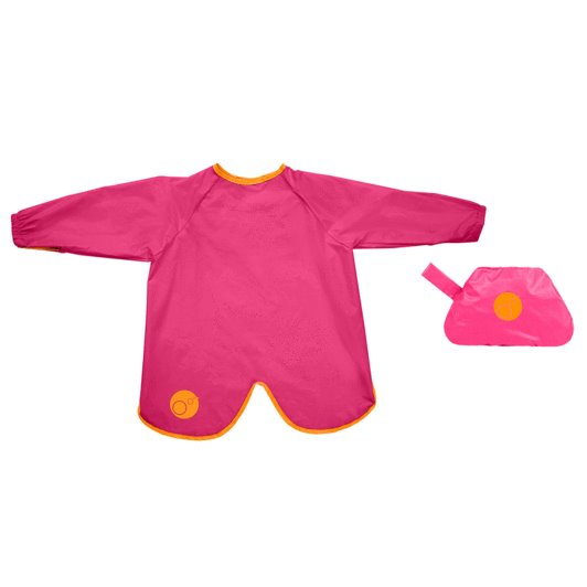 b.box Smock Bib - Strawberry Shake size 2-4 years | Baby Box | NZ Baby Shop