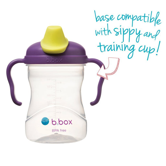 b.box Spout Cup - Grape | Baby Box | NZ Baby Shop
