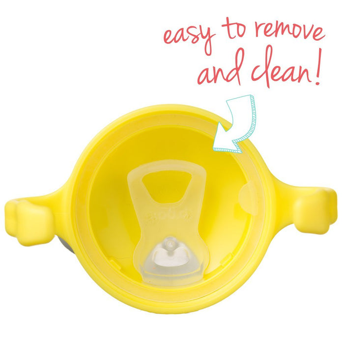 b.box Spout Cup - Lemon | Baby Box | NZ Baby Shop