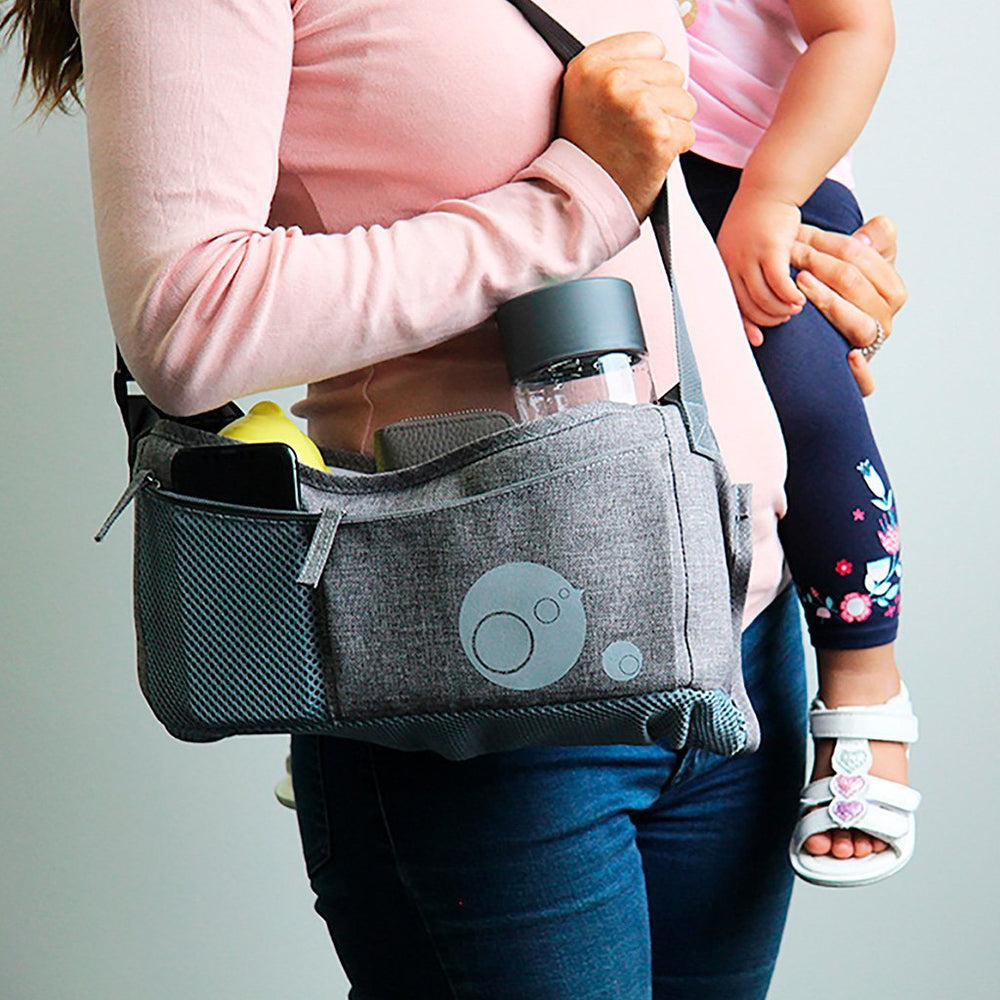 b.box - Stroller Organiser - Grey | Baby Box | NZ Baby Shop