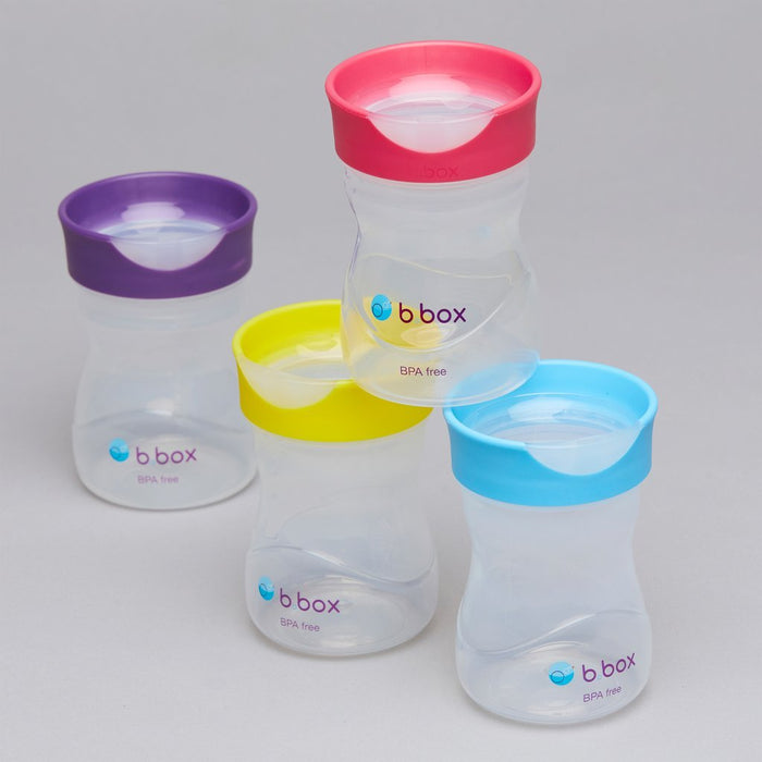 b.box Training Cup - Raspberry | Baby Box | NZ Baby Shop