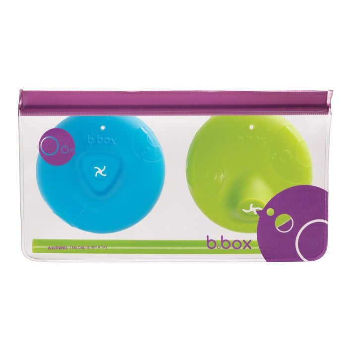 B.box - Universal Silicone Lids - Ocean Breeze | Baby Box | NZ Baby Shop