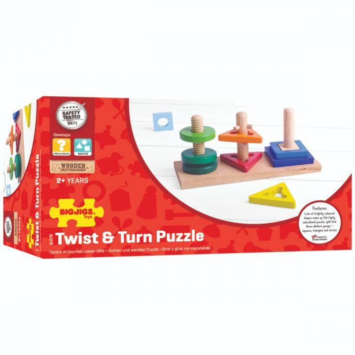 Big Jigs Twist and Turn Puzzle | Baby Box | NZ Baby Shop