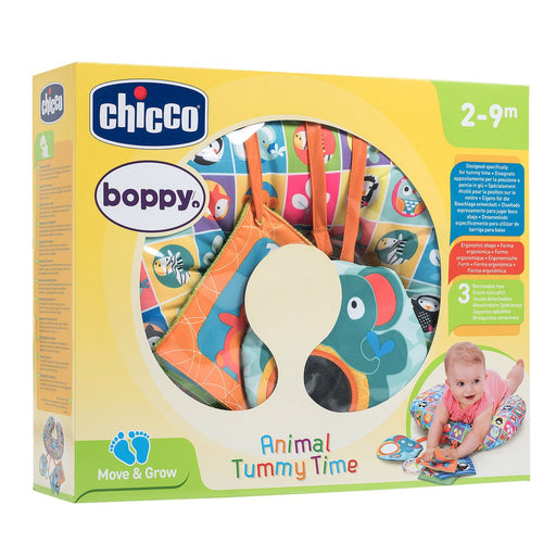 Chicco Animal Tummy Time Boppy Pillow | Baby Box | NZ Baby Shop