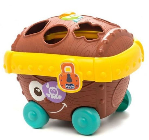 Chicco Baby Classic Pirate Chest Shape Sorter | Baby Box | NZ Baby Shop