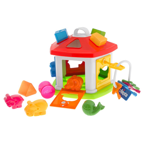 Chicco Baby Classic Shape Sorter Animal Cottage | Baby Box | NZ Baby Shop