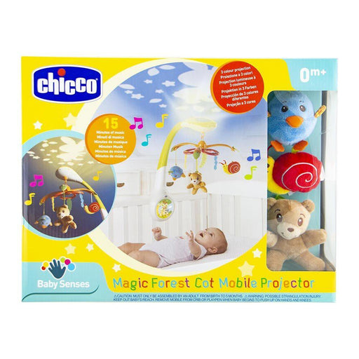 Chicco Magic Forest Cot Mobile Projector | Baby Box | NZ Baby Shop