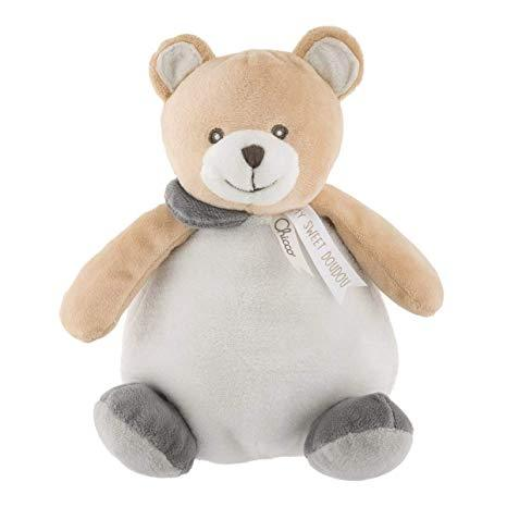 Chicco - Teddy Bear Plush Ball | Baby Box | NZ Baby Shop