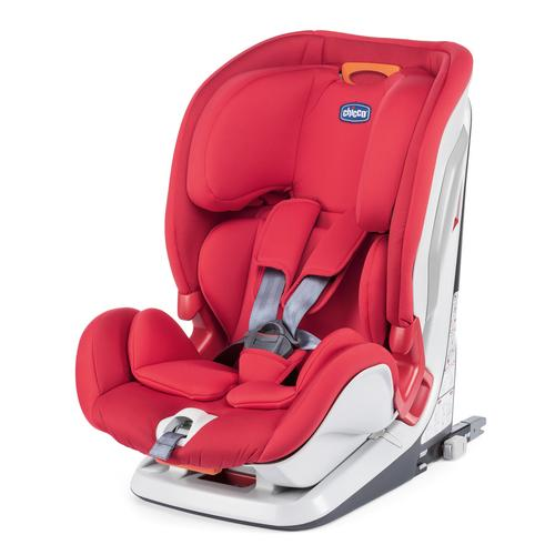 Chicco Youniverse Fix Car Seat - Red | Baby Box | NZ Baby Shop