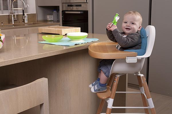 Childhome Evolu 2 Highchair White | Baby Box | NZ Baby Shop