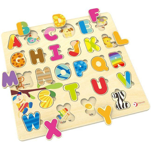 Classic World Alphabet Puzzle | Baby Box | NZ Baby Shop