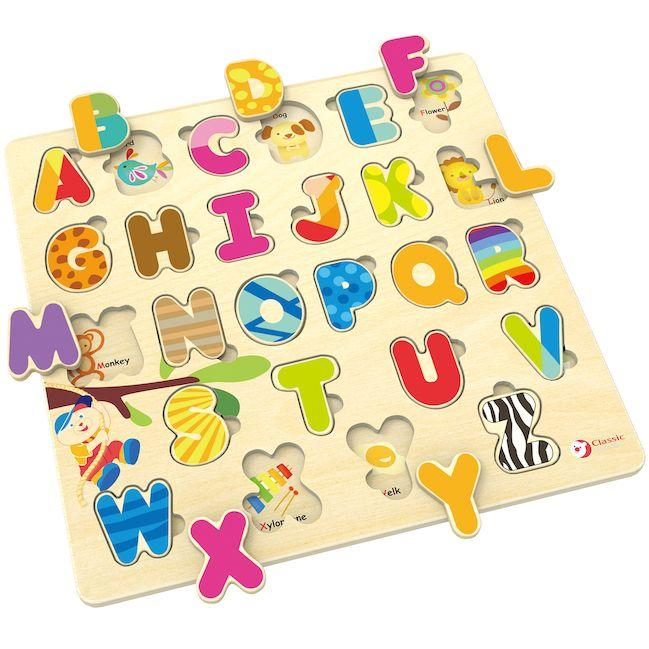 Classic World Alphabet Puzzle - Baby Box, NZ Baby Shop