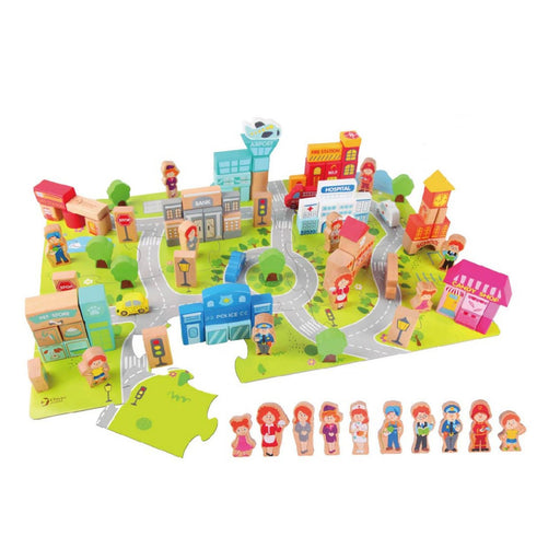 Classic World City Building Blocks | Baby Box | NZ Baby Shop