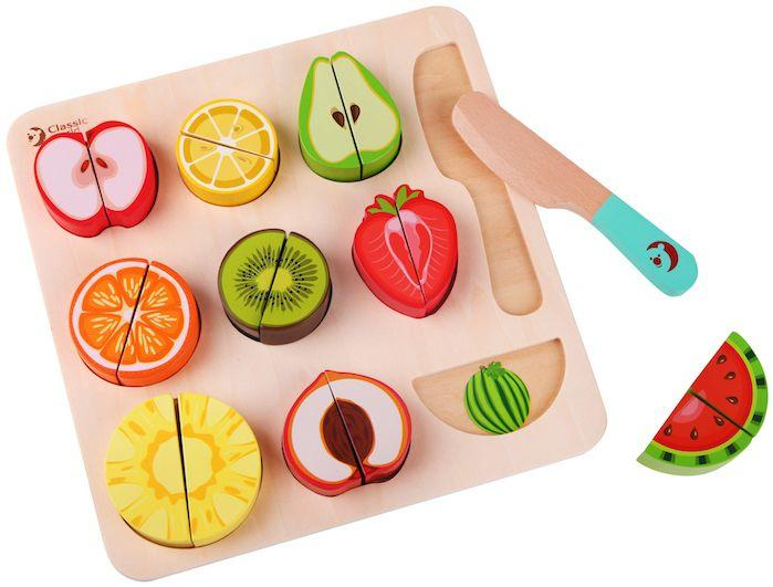 Classic World Cutting Fruit Puzzle | Baby Box | NZ Baby Shop
