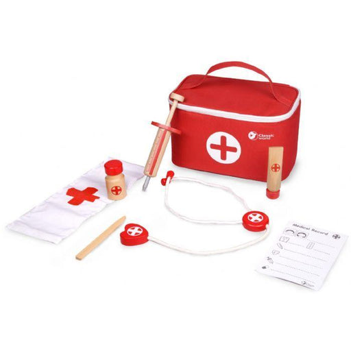 Classic World Doctor Case Red | Baby Box | NZ Baby Shop