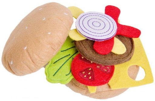 Classic World Felt Hamburger | Baby Box | NZ Baby Shop