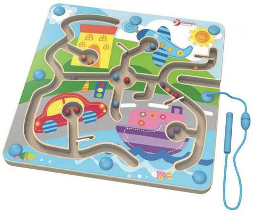 CLASSIC WORLD MAGNETIC TOWN SET - NAVIGATION | Baby Box | NZ Baby Shop