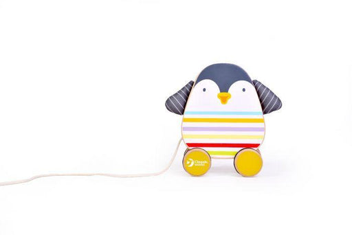 Classic World Penguin Pull Toy | Baby Box | NZ Baby Shop