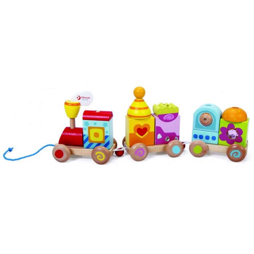 Classic World Pull Train | Baby Box | NZ Baby Shop