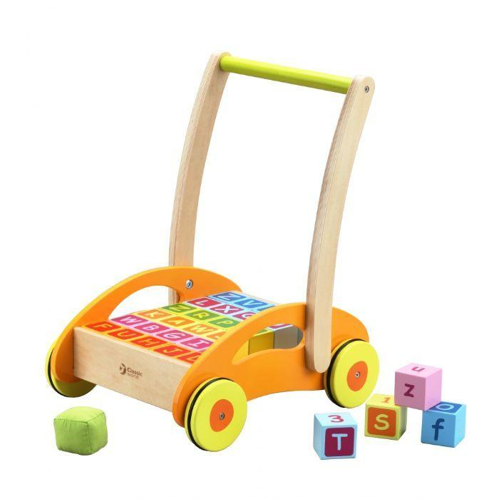 Classic World Walker With Blocks | Baby Box | NZ Baby Shop