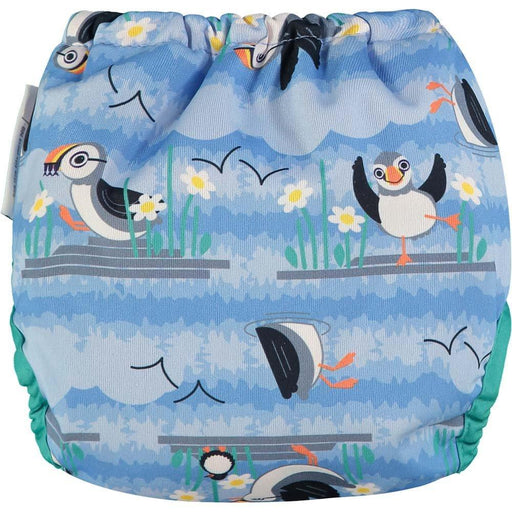 Close Pop-In Bamboo Cloth Nappy - Blue Puffin | Baby Box | NZ Baby Shop