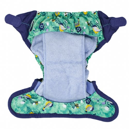 Close Pop-In Bamboo Cloth Nappy - Round The Garden | Baby Box | NZ Baby Shop