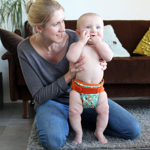 Close Pop-In Bamboo Cloth Nappy - Tiger | Baby Box | NZ Baby Shop