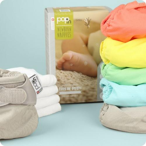 Close Pop-in Newborn or Prem Nappy Pack 2020 - Pastel | Baby Box | NZ Baby Shop
