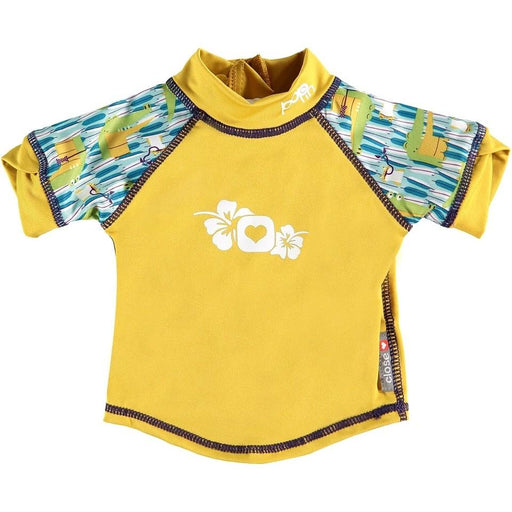 Close Pop-in Rash Vest - Crocodile (Charles & Erin) | Baby Box | NZ Baby Shop