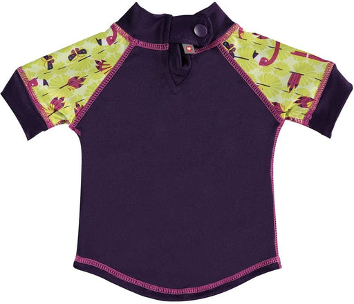Close Pop-in Rash Vest - Flamingo (Lala & Bugsy) | Baby Box | NZ Baby Shop