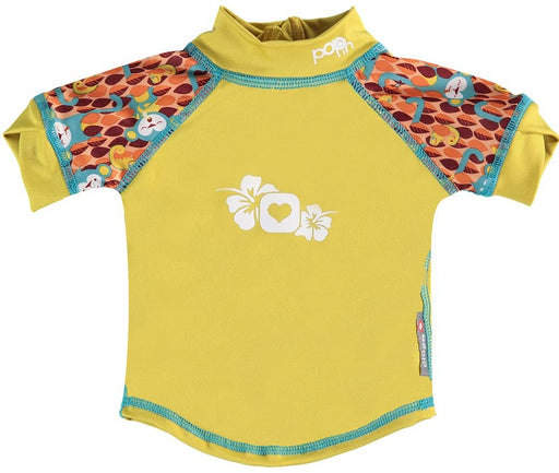 Close Pop-in Rash Vest - Monkey (Ticky & Bert) | Baby Box | NZ Baby Shop