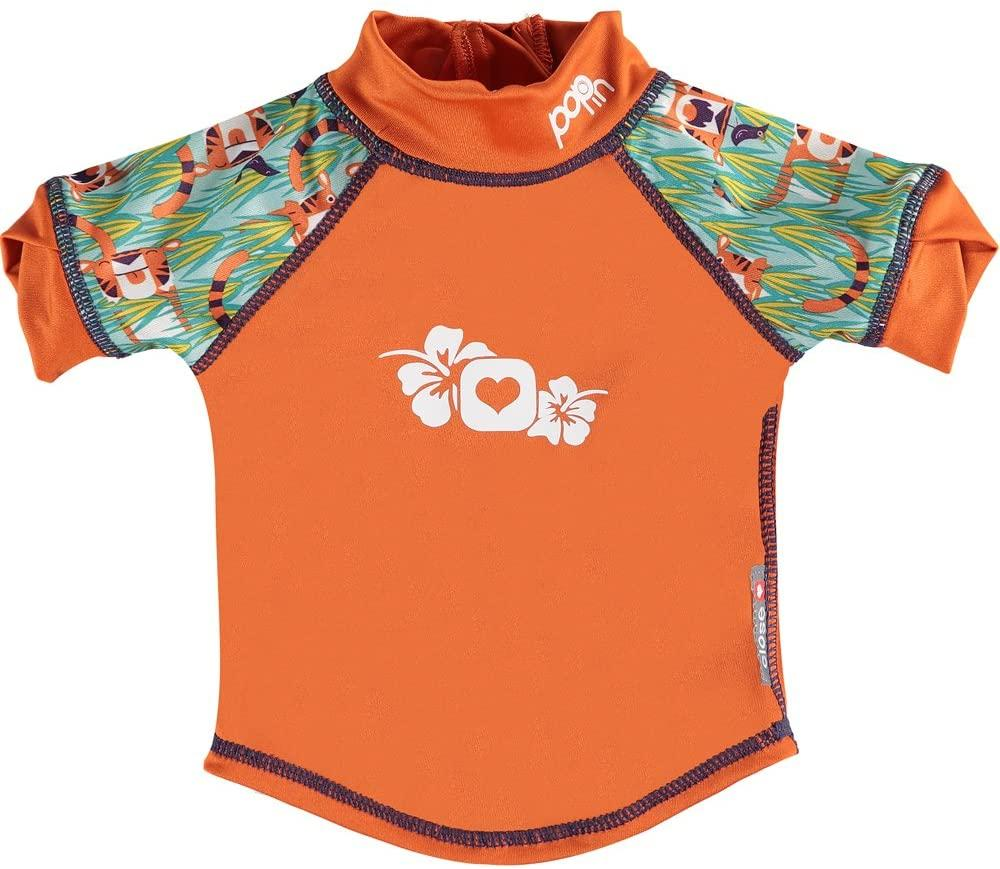 Close Pop-in Rash Vest - Tiger (Oswald & Bo) | Baby Box | NZ Baby Shop