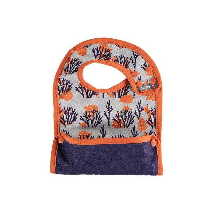 Close Pop-In Stage 2 Bib - Winter Fox - 6+ months | Baby Box | NZ Baby Shop