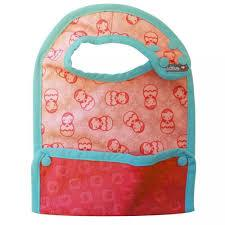 Close Pop-In Stage 2 Reversible Bib (Russian Dolls) | Baby Box | NZ Baby Shop