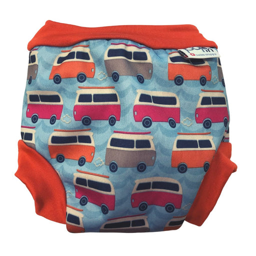 Close Pop-in Swim Nappy - Campervan Blue | Baby Box | NZ Baby Shop