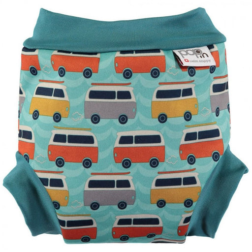 Close Pop-in Swim Nappy - Campervan Green | Baby Box | NZ Baby Shop