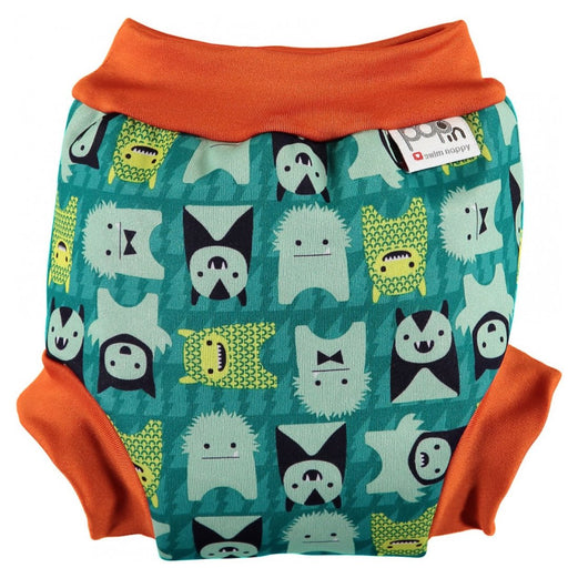 Close Pop-in Swim Nappy - Monster Herman | Baby Box | NZ Baby Shop