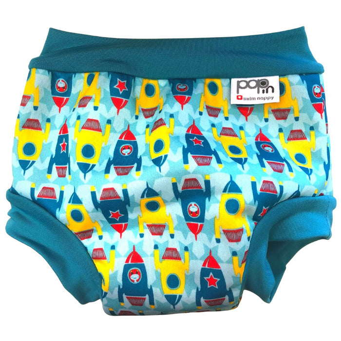 Close Pop-in Swim Nappy - Rockets | Baby Box | NZ Baby Shop