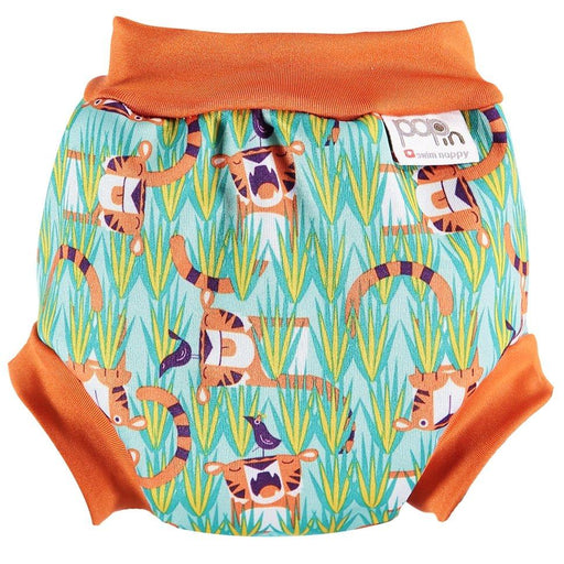 Close Pop-in Swim Nappy - Tiger | Baby Box | NZ Baby Shop