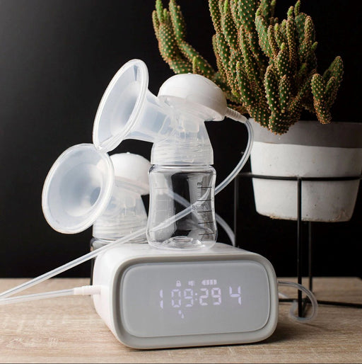 Crane Rechargeable Double Electric Breast Pump | Baby Box | NZ Baby Shop