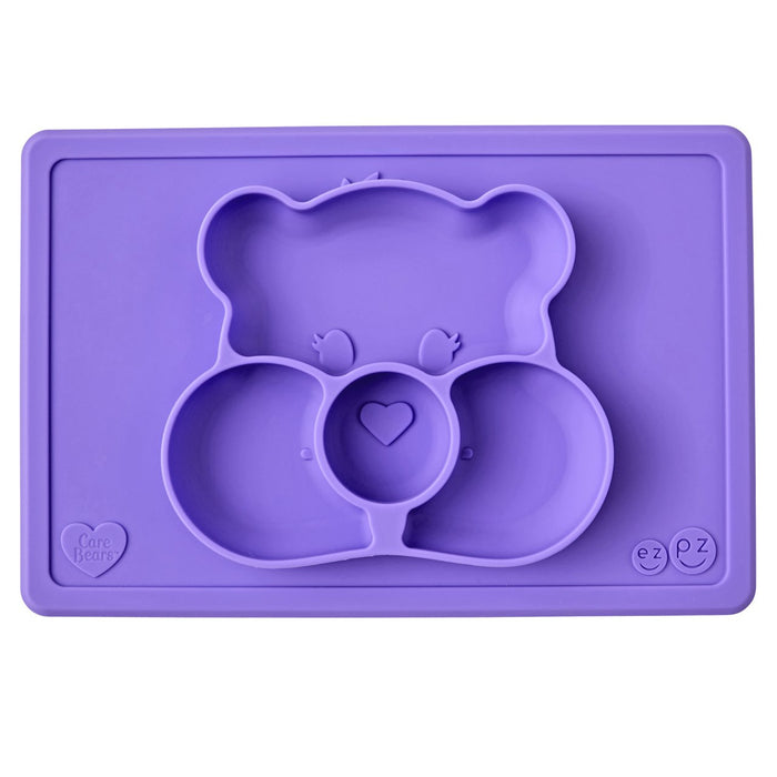 EzPz Care Bears Mat - The Dinnerplate and Placemat in One | Baby Box | NZ Baby Shop