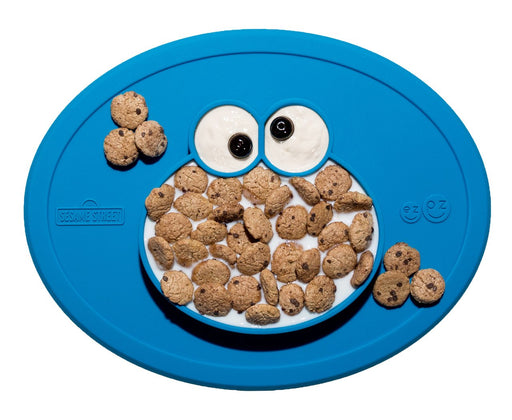 EzPz Sesame Street Cookie Monster Mat | Baby Box | NZ Baby Shop
