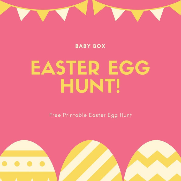 Free Printable Easter Egg Hunt | Baby Box | NZ Baby Shop