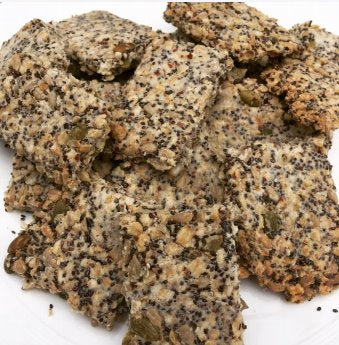 Free Recipe: Seed and Oat Crackers | Baby Box | NZ Baby Shop