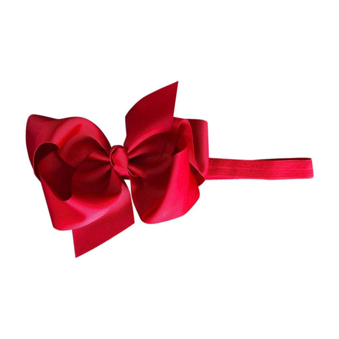 Isabella Bows - Big Bow Baby Headbands | Baby Box | NZ Baby Shop