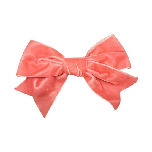 Isabella Bows - Grand French Velvet Bow Clips | Baby Box | NZ Baby Shop
