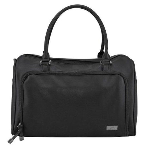 Isoki Double Zip Satchel - Onyx | Baby Box | NZ Baby Shop